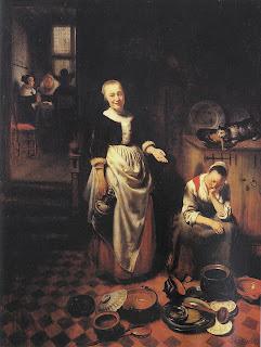 Nicolaes Maes, Moza durmiendo