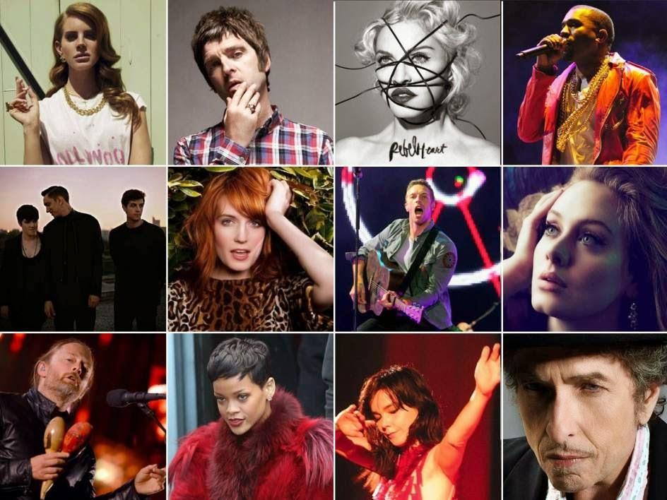 20 discos que sonarán en 2015