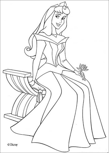 Snow White Kiss Coloring Pages