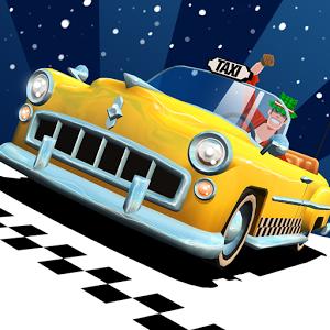 Game Crazy Taxi City Rush MOD APK