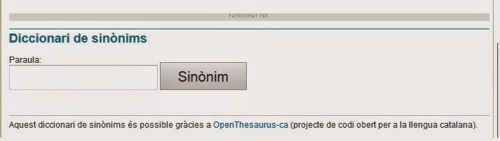http://www.elpuntavui.cat/serveis/diccionaris/sinonims.html