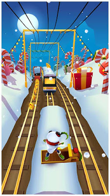 Subway Surfers north pole victoriatur