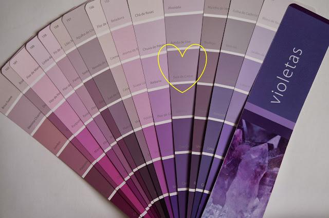 paleta de cores da Suvinil