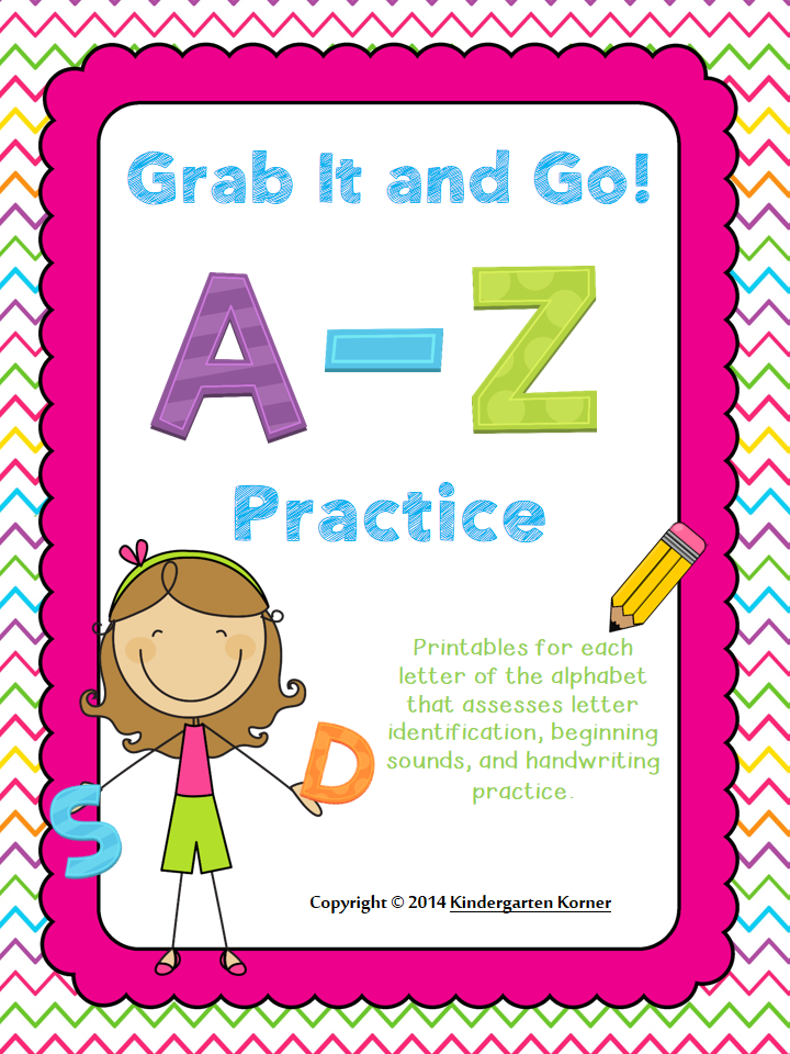 http://www.teacherspayteachers.com/Product/Grab-It-and-Go-A-Z-Practice-1094958