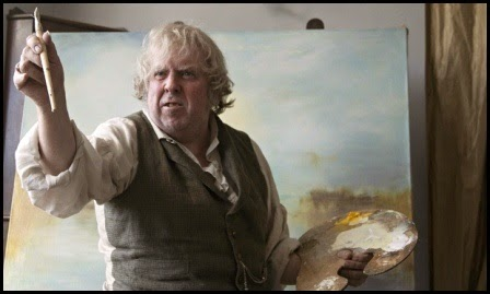 Timothy Spall en Mr. Turner, de Mike Leigh