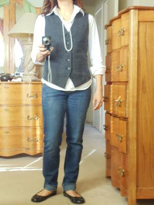 Redos, vest redo, double sided vest