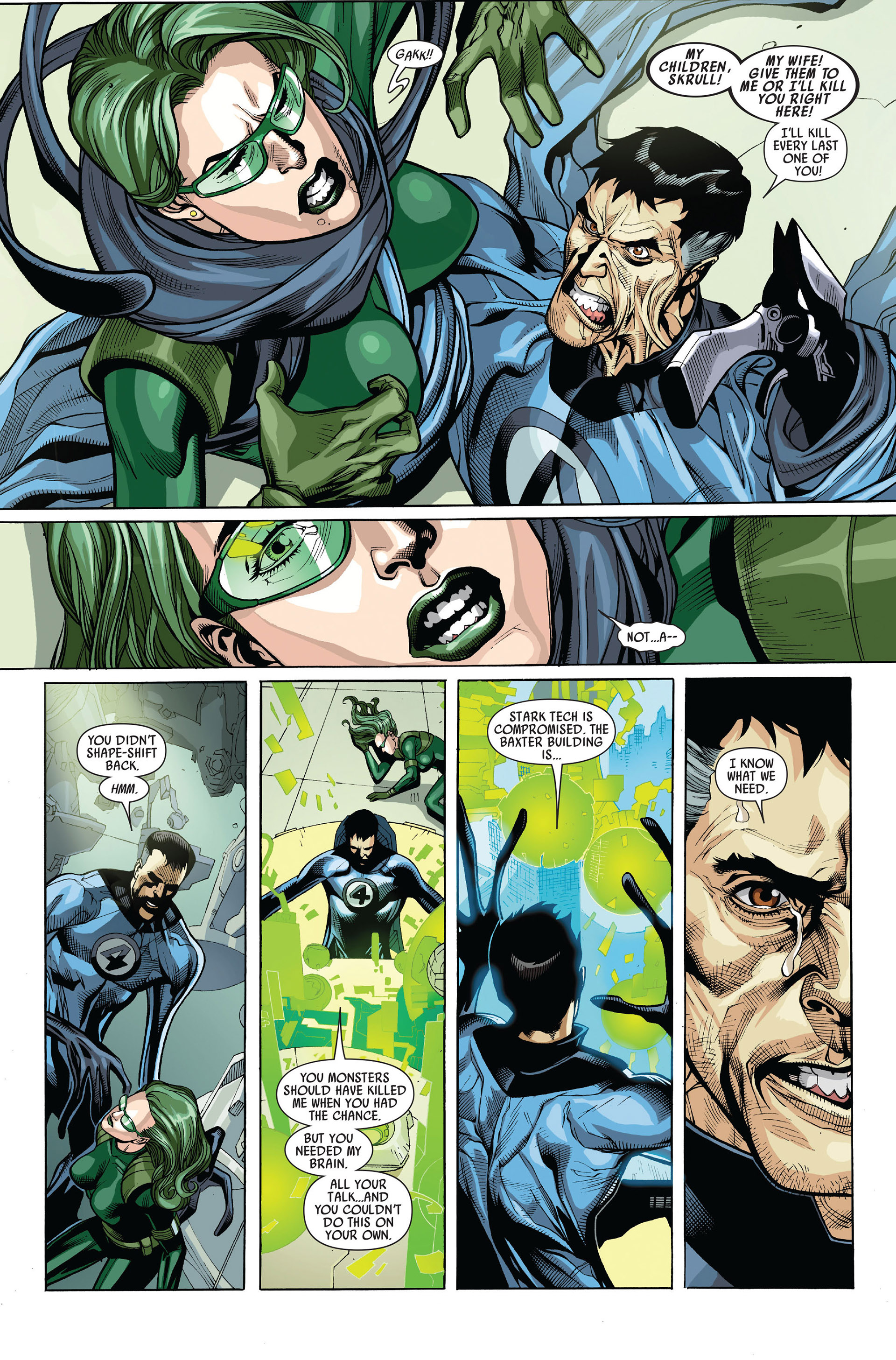 Read online Secret Invasion comic -  Issue #5 - 11