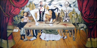 Wounded table by Frida