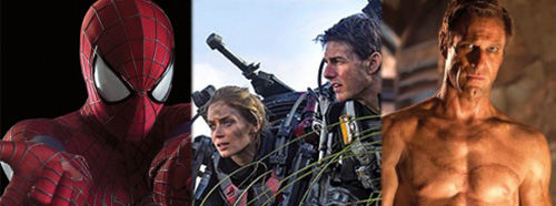 Amazing Spider-Man 2 All You Need is Kill I, Frankenstein Images
