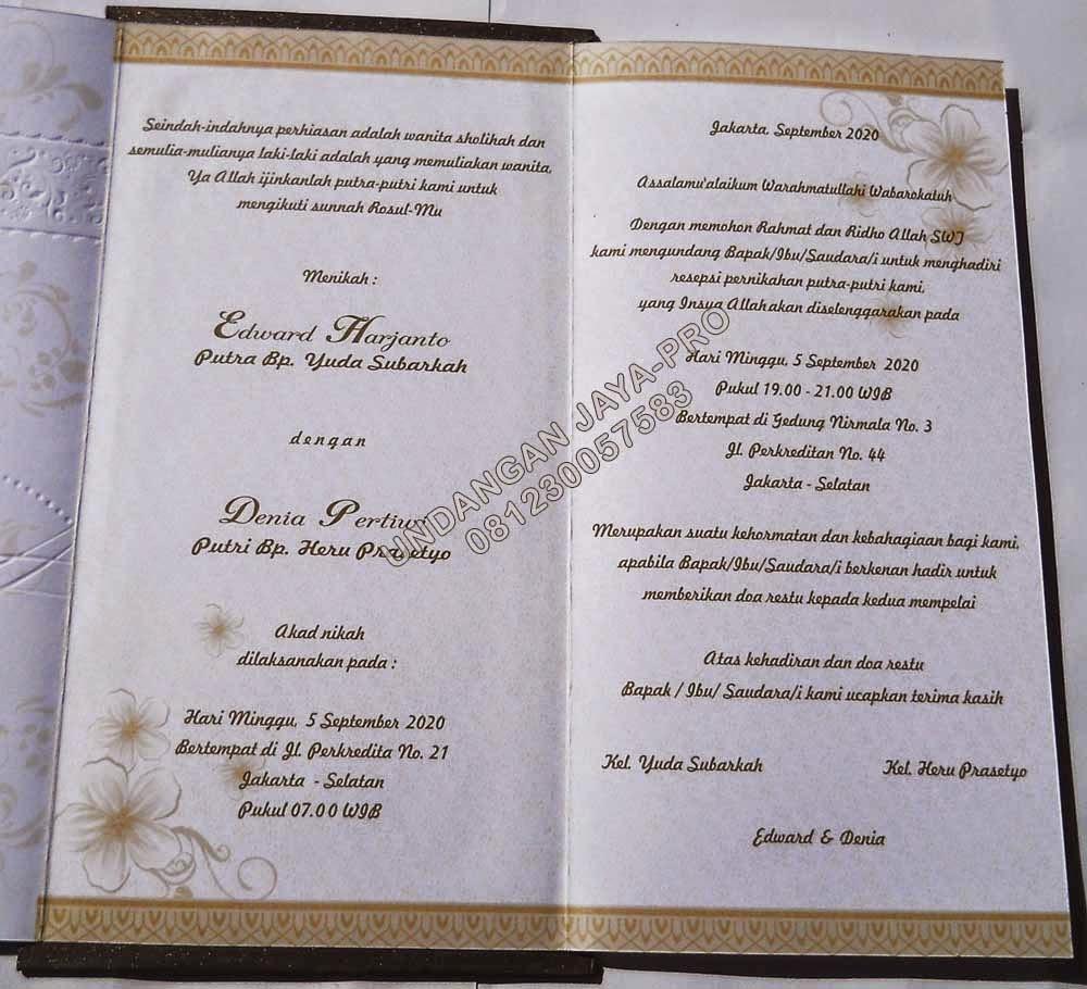 e shc 88137 undangan pernikahan murah | undangan