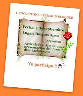 I ENCUENTRO LITERARIO BLOGGER EN BUENOS AIRES