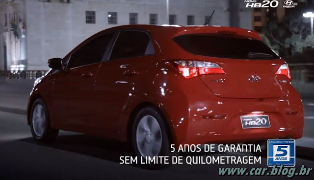 Hyundai HB 20 - traseira