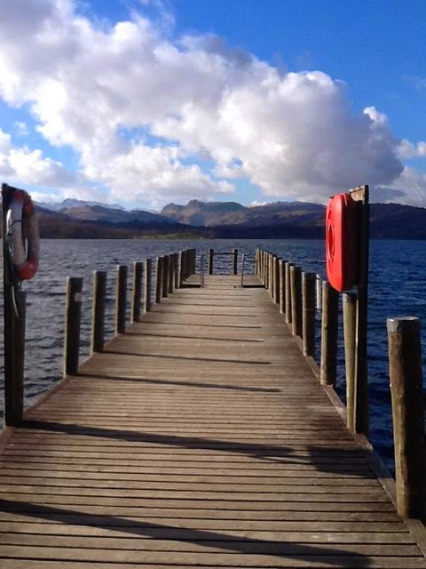 Brockhole jetty view to Langdales