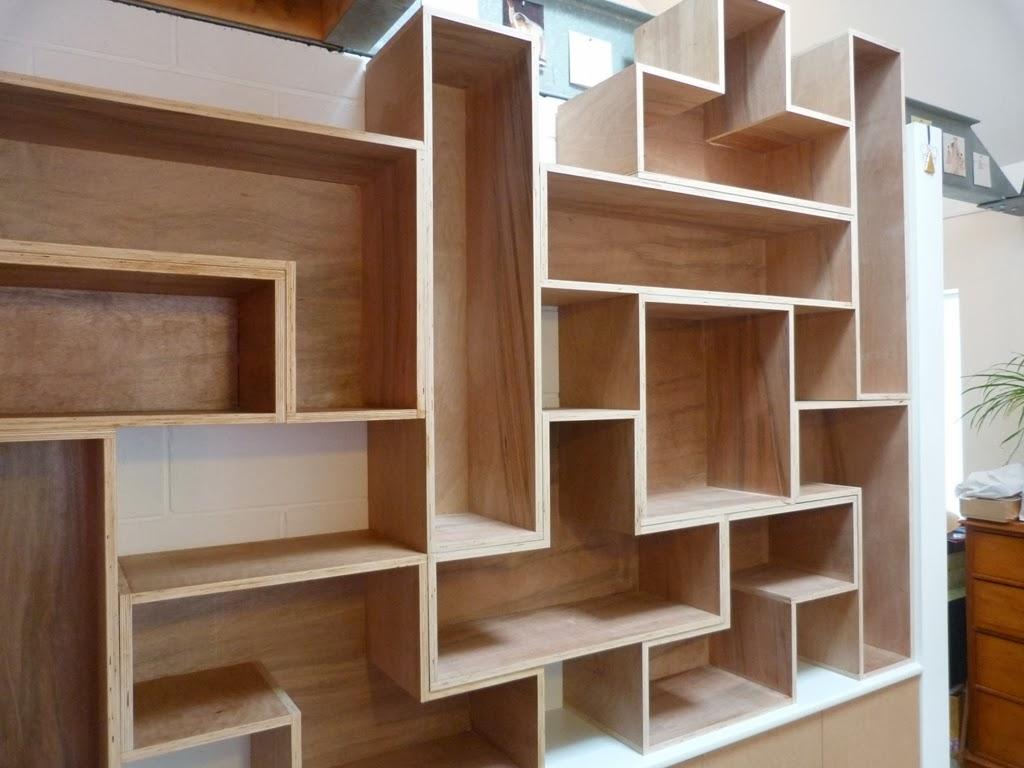 Sawdust in my socks tetris style shelves for Tetris bookshelf