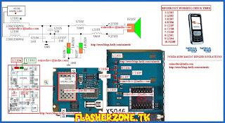 Nokia 6120 buzzer jumper diagram hardware problem solution