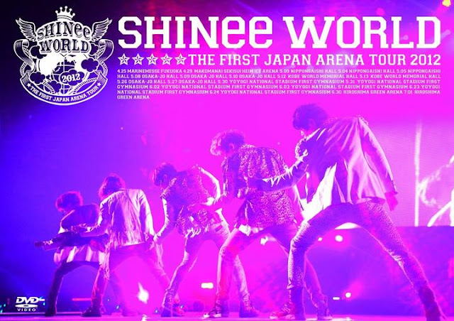 Watch the SHINee World Japan Arena tour dvd