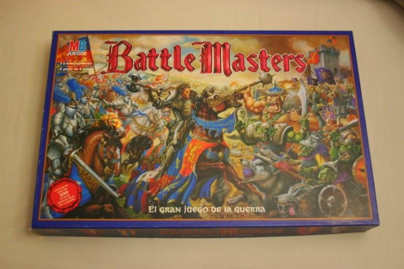 Portada de la caja de Battle Master