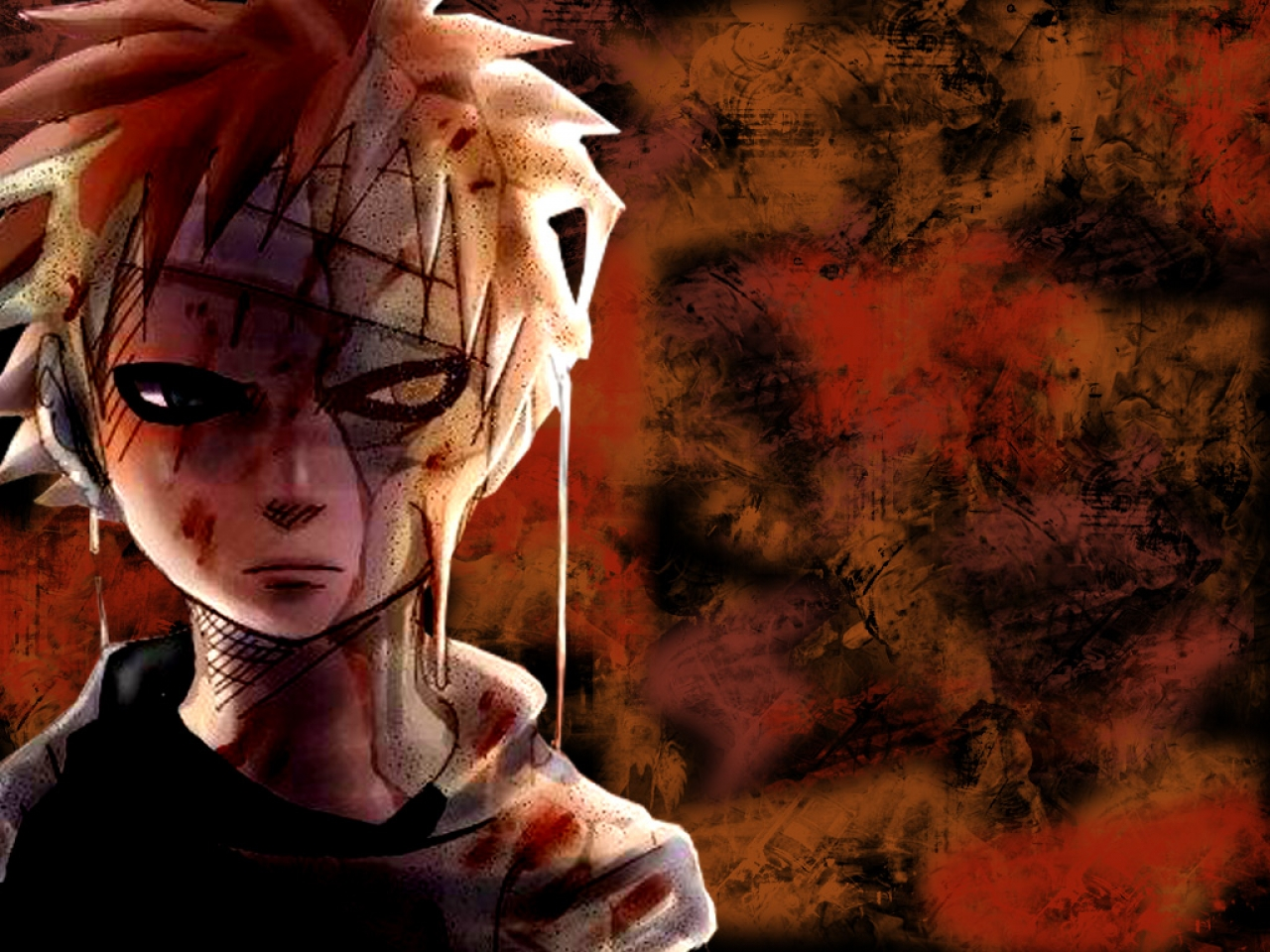 Naruto And Bleach Anime Wallpapers: Managa Style Gaara ...