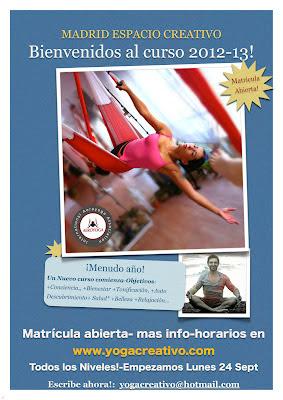 clase de yoga en Madrid