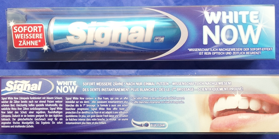 Signal white now test