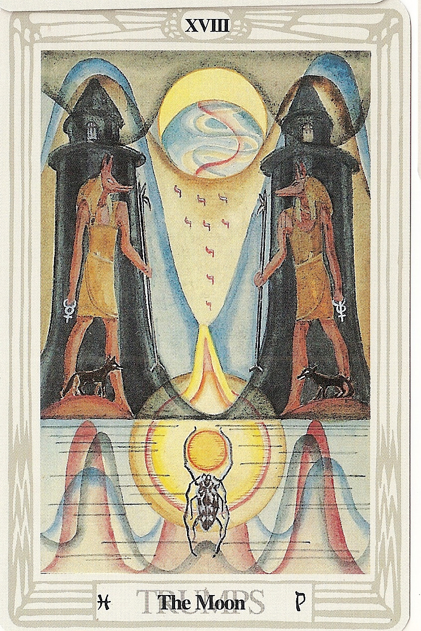 Displaying 20> Images For - Wheel Of Fortune Tarot Thoth...