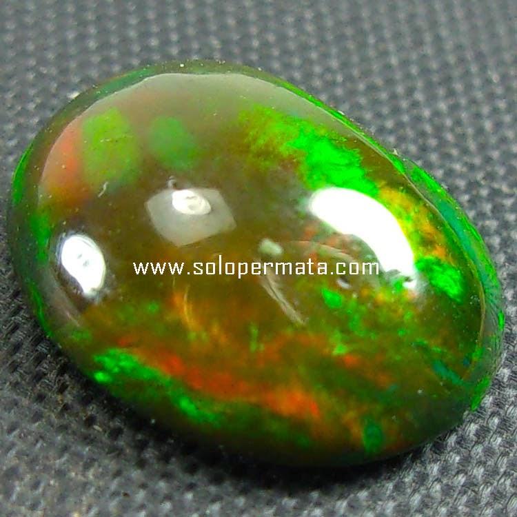 `Batu Permata Black Opal Kalimaya