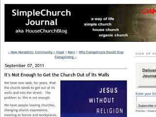 Simple Church Journal