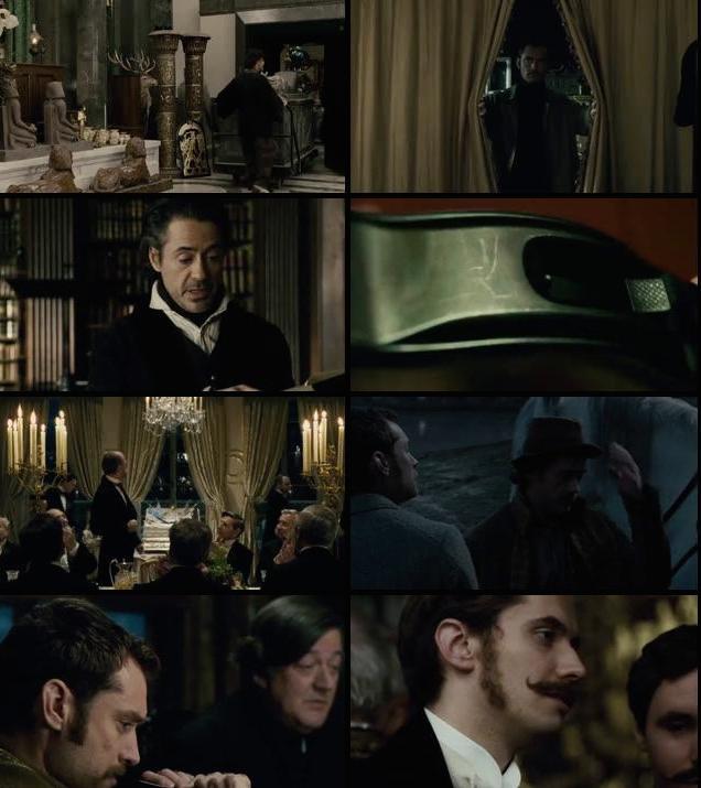 Sherlock Holmes A Game of Shadows 2011 Hindi Dual Audio BRRip 480p