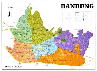 Peta Wisata Bandung