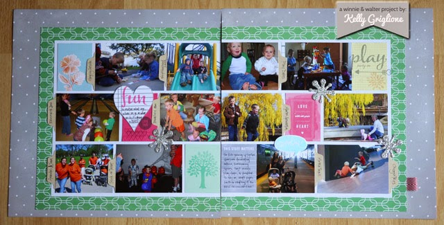 Winnie Walter Blog Scrapbooking As A Gift With Kelly