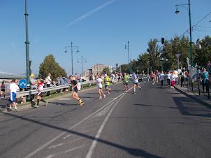 Sunday(13-9-2015) :- Budapest Marathon in progress.