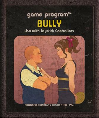 Cartucho de Atari Bully Garota Ninfa Girl Líder de Torcida Retro