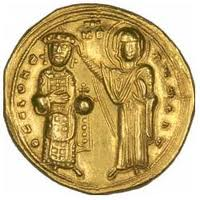 Byzantine empire coins