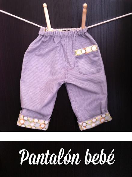 Monográfico de Costura pantalón bebé en Trapo y Tela
