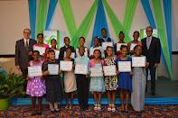 Sagicor Annual GSAT Scholarship Awards 2014