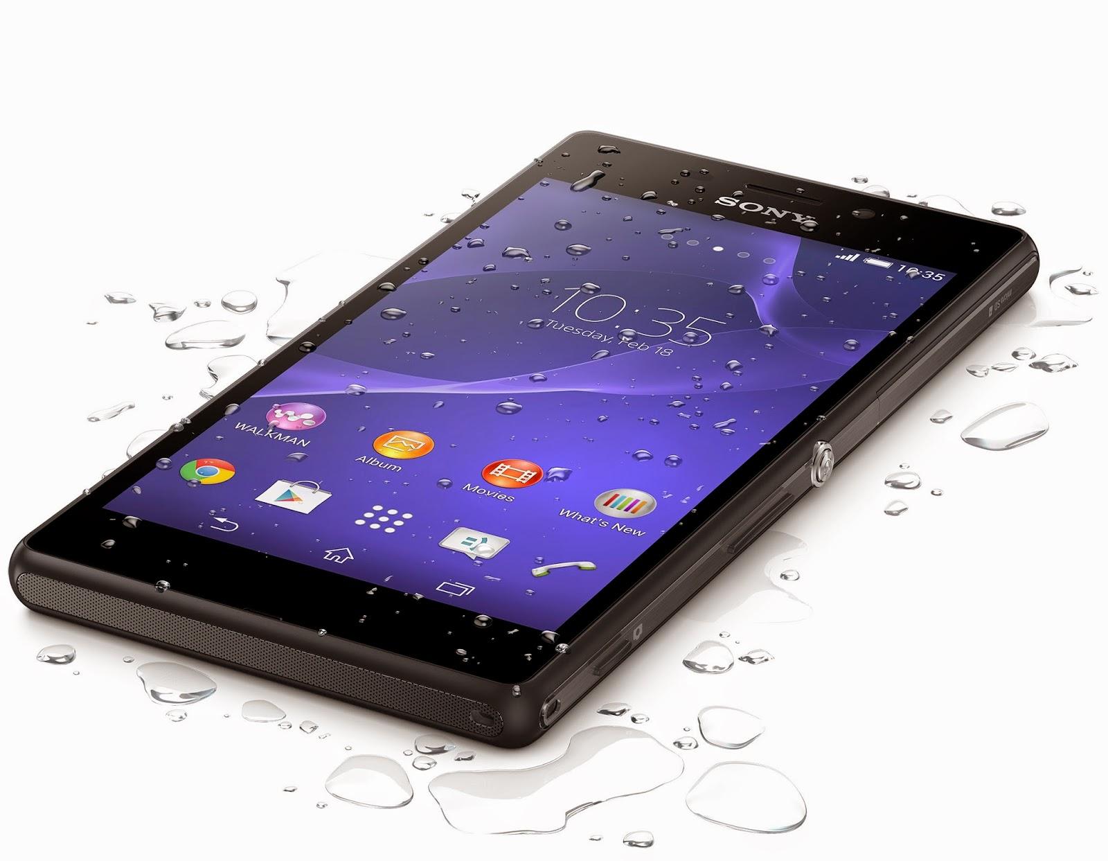 Harga Dan Spesifikasi Sony Xperia M2 Aqua, Smartphone Android Tahan Air