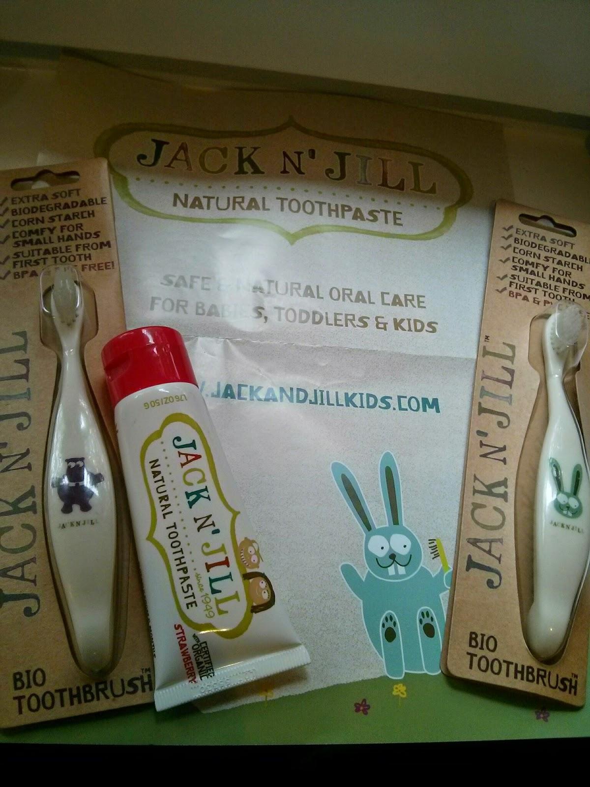 Jack N' Jill toothpaste