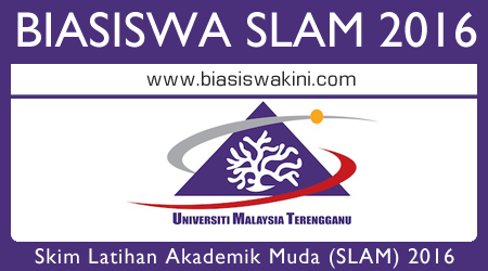 Biasiswa SLAM 2016 UMT - Universiti Malaysia Terengganu Scholarships