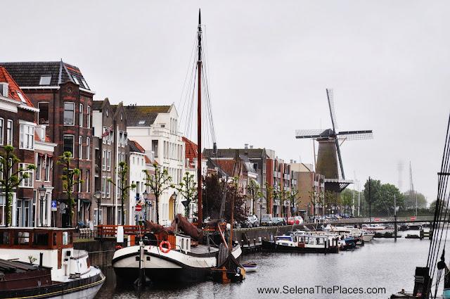 Harbor Windmill Delfshaven Rotterdam