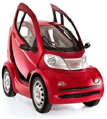 Too Small Electric car goes on Sale