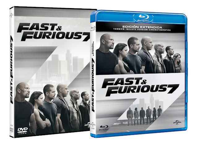 Concurso 'Fast & Furious 7': Tenemos el DVD de la película para vosotros