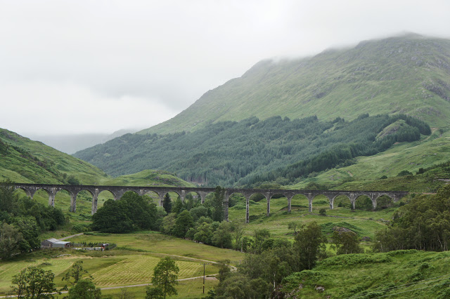 Puente de Harry Potter. Viaducto de Glenfinnan.