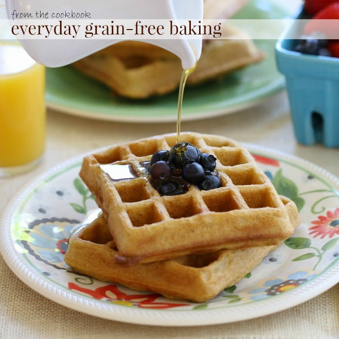 Almond Flour Blender Waffles | In The Kitchen With Honeyville