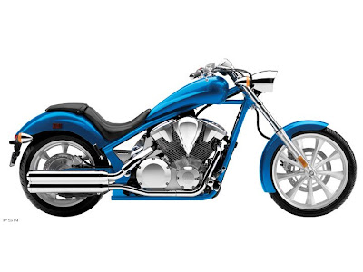 2012 Honda Fury Ultra Blue Metallic Color