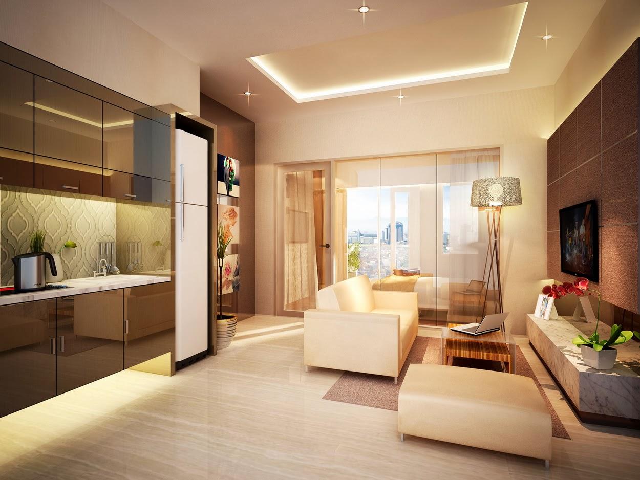 Type 1 BR (35 m2), Apartemen Puri Orchard