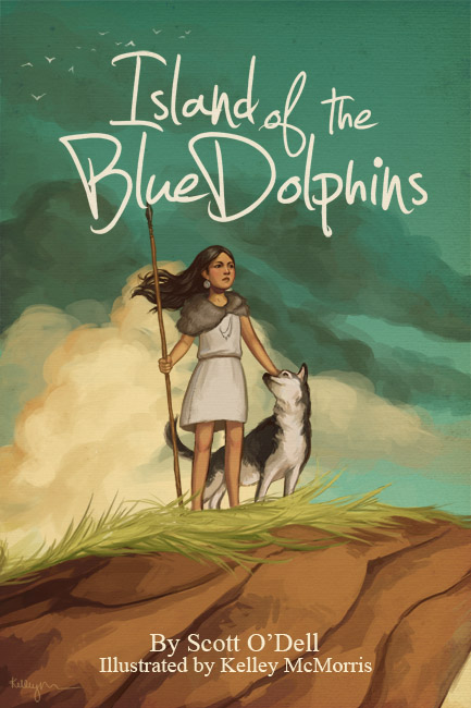 Island of the blue dolphins cover - photo#7