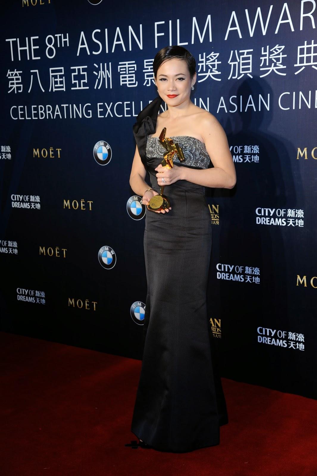 Yeo Yann Yann (Ilo Ilo) won Best Supporting Actress at the 8th AFA