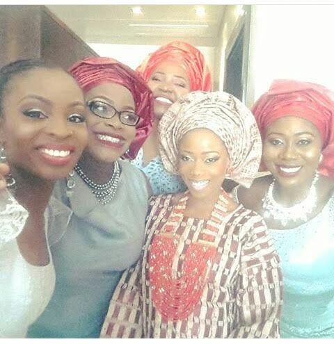 Tosyn Bucknor traditional wedding ceremony