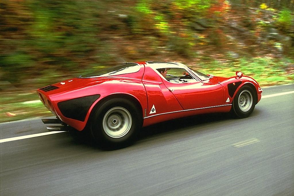 Alfa Romeo 33 Stradale | modern design by moderndesign.org