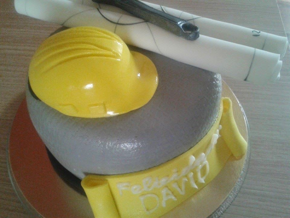 Tarta fondant INGENIERO CIVIL